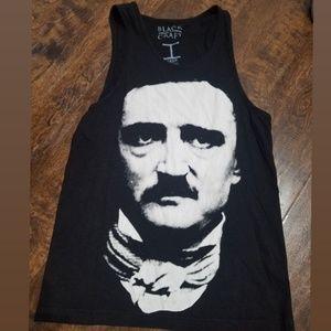 Black Craft Cult Edgar Allen Poe quote tank top